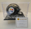 Jerome Bettis Signed Steelers Mini Helmet With Hologram, COA and Display Case