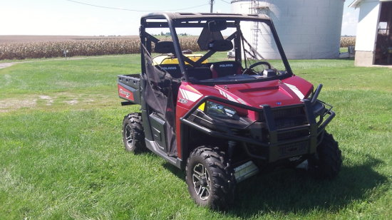 Polaris Ranger XP 900 EFI engine, 500 miles;