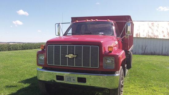 1990 Chevrolet Kodiak Grain Truck