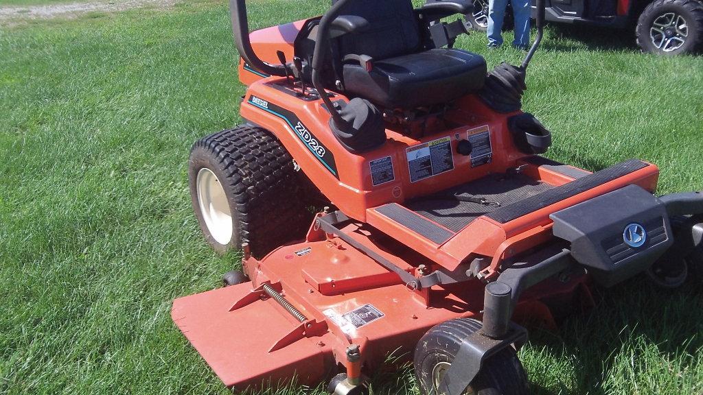 """2004 Kabota ZD28 Diesel Zero Turn mower w/72""""deck, 470 hrs"""
