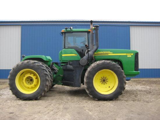2004 JD 9220 4 wheel drive Tractor