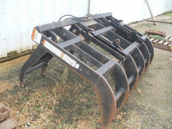 Work Saver loader grapple w/JD & IH brackets
