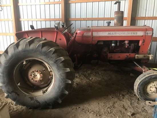 Allis D-17 Tractor