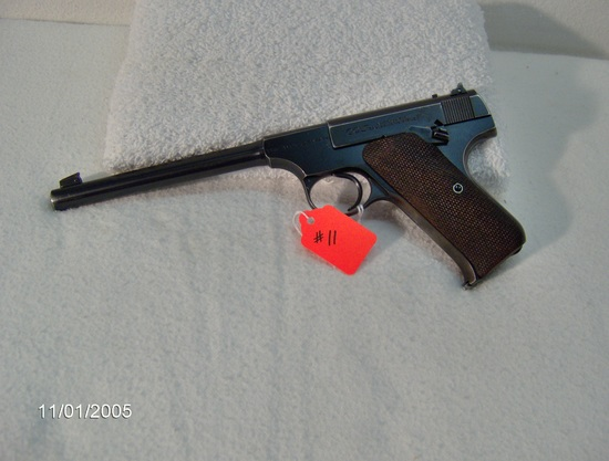 Colt – The Woodsman    22 cal.6 ½ inBluedL.R. Std. velocity78846