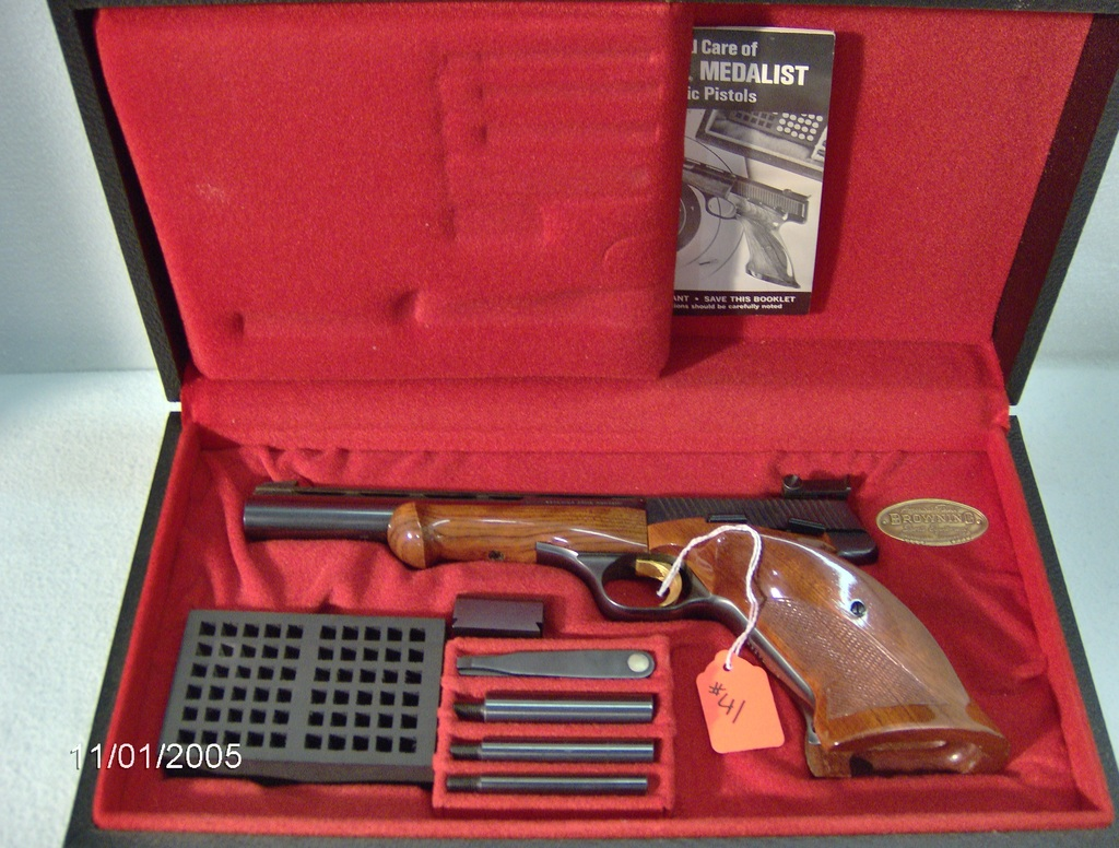 Browning Medalist 22 cal