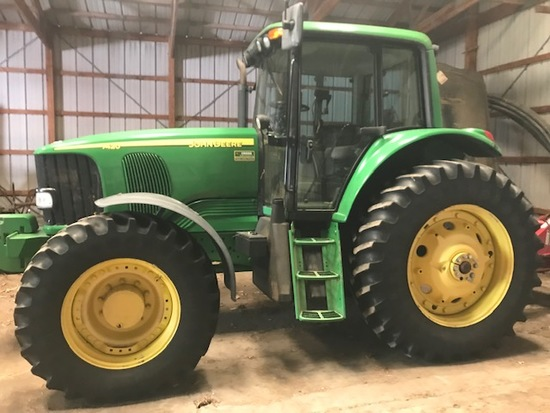JD 7420 MFWD Tractor