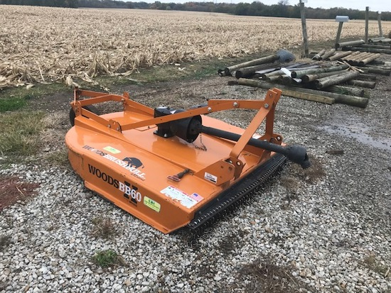 Woods 3 point Mower