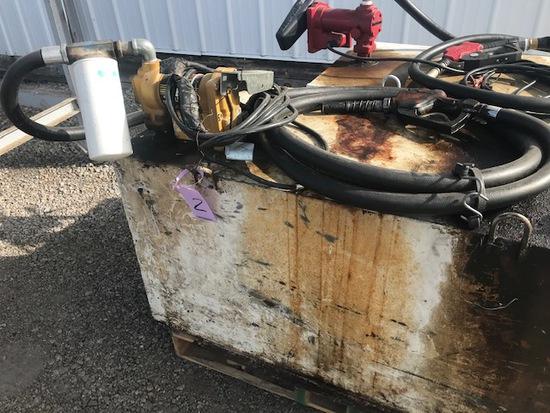 100 gallon diesel transfer tank