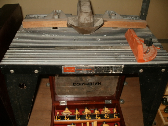 Craftsman Router Table & Bits
