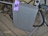 100 amp box (rain proof)
