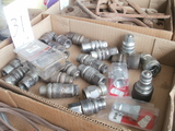 hydraulic quick couple ends