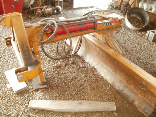 Woods RB850, 9', 3 point blade, 2 hydraulic cylinders
