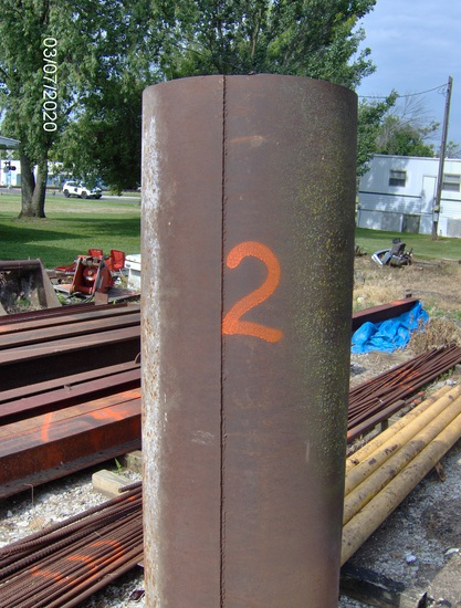 "24"" Dia Steel Pipe"