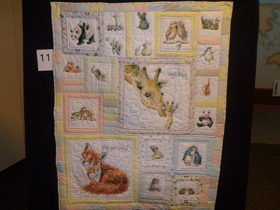 My First Furry Friends Quilt