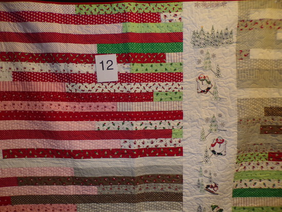 Winter Wonderland Christmas Quilt