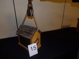 Antique Pulley Birdhouse
