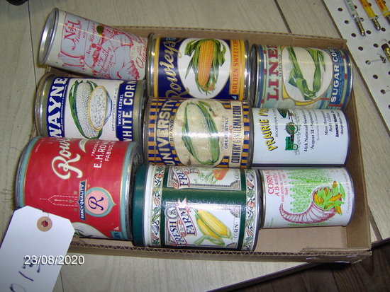Corn Advertising Cans & Banks