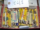 Bullet Pencils