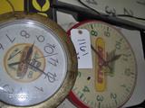 Cica & Dekalb Battery Clocks