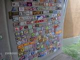 Large Corn Cap Patch Display Board