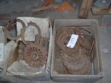 7 Boxes Of Cast Planter Plates