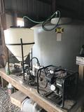 Fertilizer Induction, Pump, H20 Poly Tanks