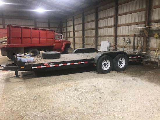 Mac-Landers  tandem axle, bumper hitch trailer