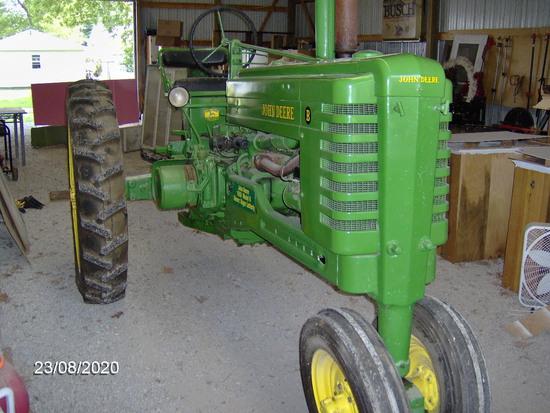 1950 John Deere Model B Tractor