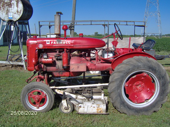 Farmall Model B Tractor
