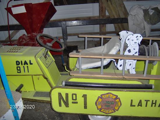 Home built ladder fire truck