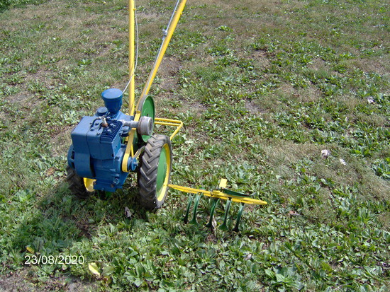 Planet Jr. garden cultivator