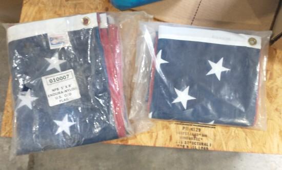 5' x 8' American Flags
