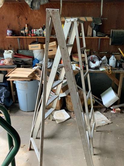 6' Aluminum Step Ladders