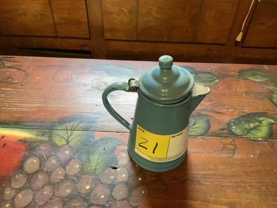 Enamelware Pint Coffee Pot