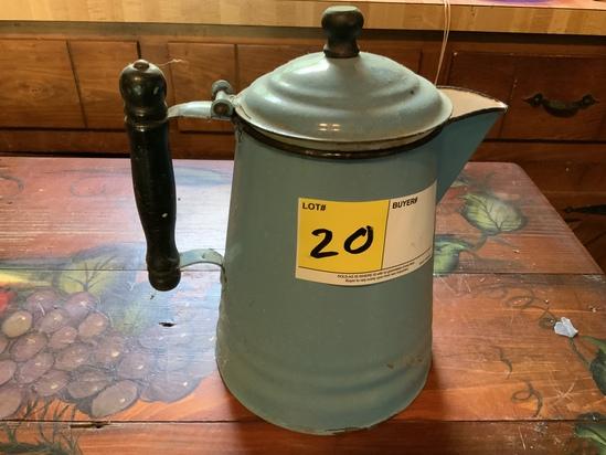 Enamelware Coffee Pot