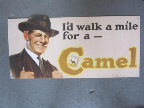 CAMEL CIGARRETTES SST NOS DIE-CUT, 10X20