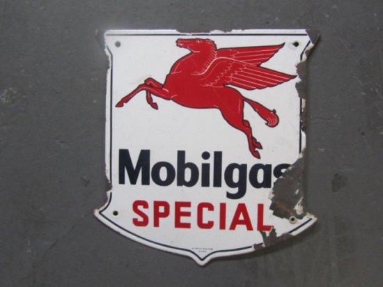 MOBIL GAS SHIELD PUMP PLATE SSP , 13X13