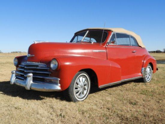 1947 Chevrolet Fleetmaster convertible