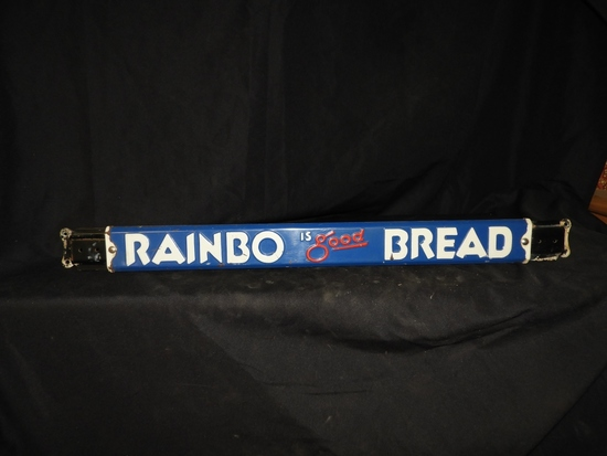 Rainbo Bread door push