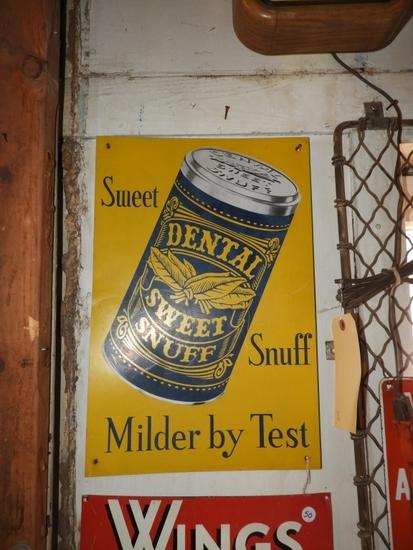 """Dental Sweet Snuff SST, 12""""X18"""""""
