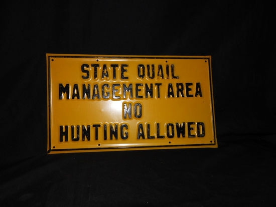 State Quail Management Area