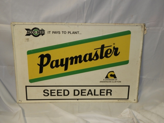 """Paymaster Seed Dealer self-framing SST, 36""""X24"""""""