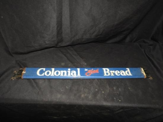 Colonial Bread sign door push