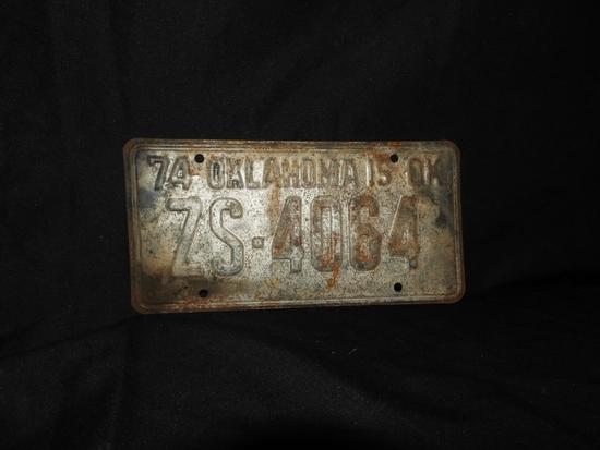 1974 tag burned in prison riot