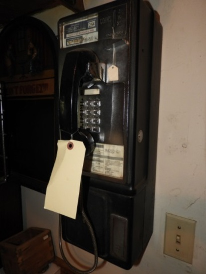 25 cent pay phone, McLoud Telephone Company