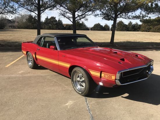 1970 Shelby GT500 Convertible   NO RESERVE