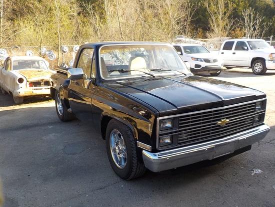 1983 Chevy Stepside Silverado