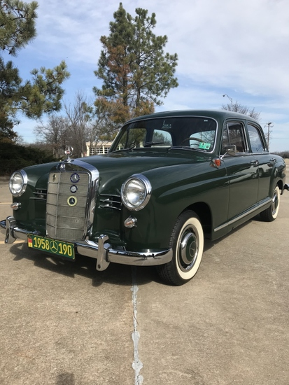 1958 Mercedes 190
