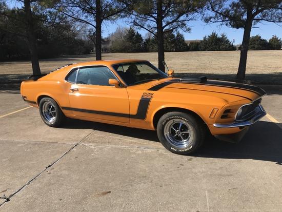 1970 Mustang Boss   NO RESERVE