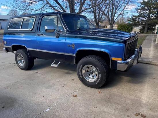 1985 K Blazer